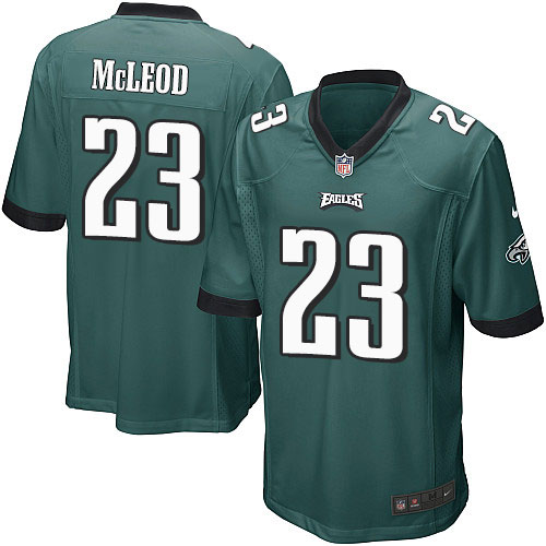 Rodney McLeod Nike Philadelphia Eagles Game Green Midnight Team Color Jersey