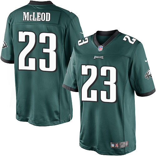 Rodney McLeod Youth Nike Philadelphia Eagles Limited Green Midnight Team Color Jersey